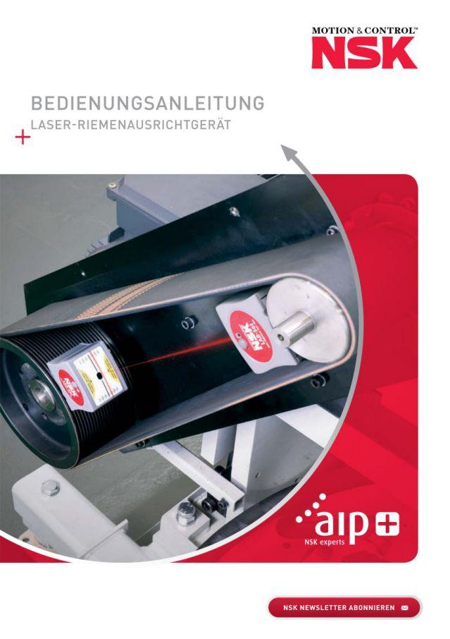 Bedienungsanleitung - Laser-Riemenausrichtgerät