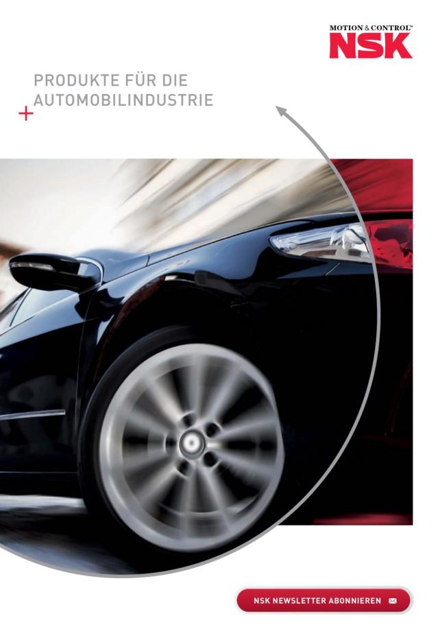 Produkte für die Automobilindustrie