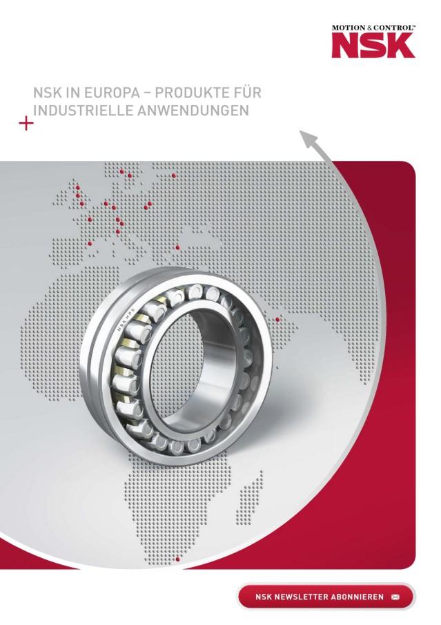 NSK in Europa - Produkte für Industrielle Anwendungen