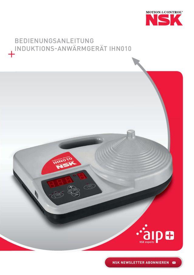 Bedienungsanleitung - Induktions-Anwärmgerät IHN010