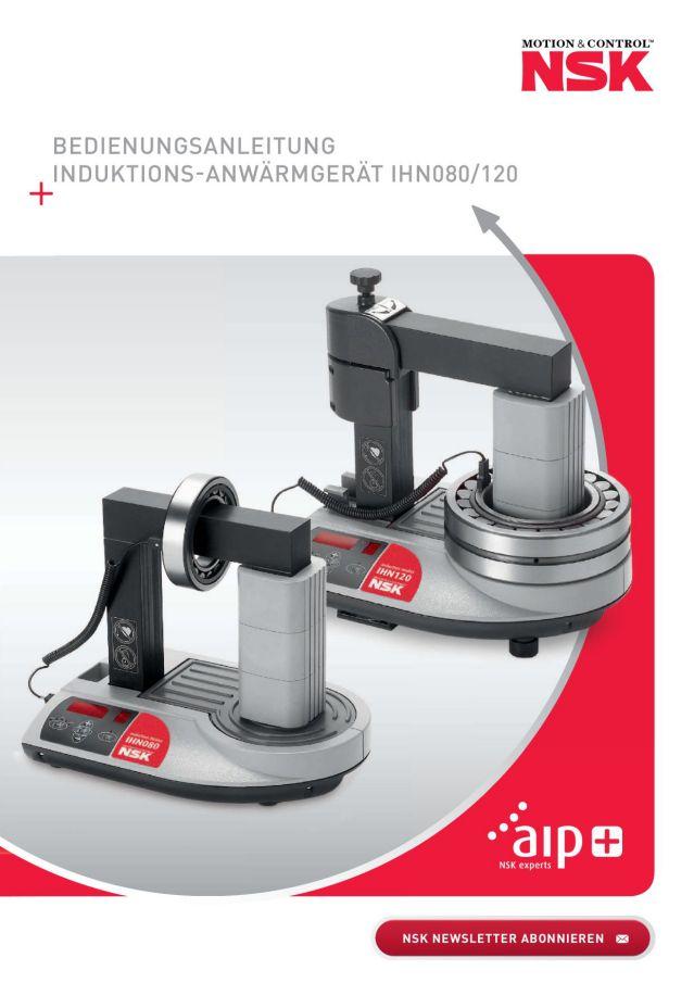 Bedienungsanleitung - Induktions-Anwärmgerät IHN080/120