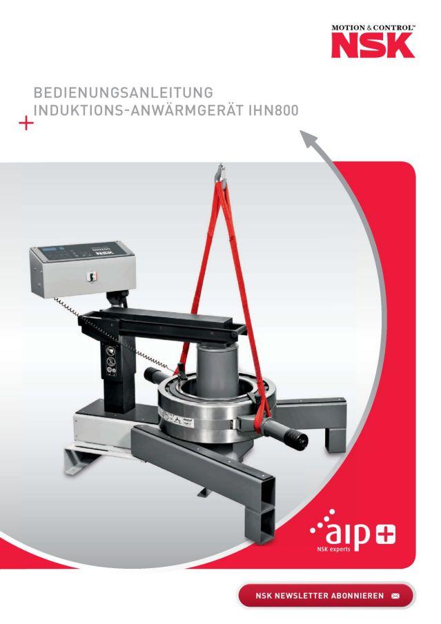 Bedienungsanleitung - Induktions-Anwärmgerät IHN800