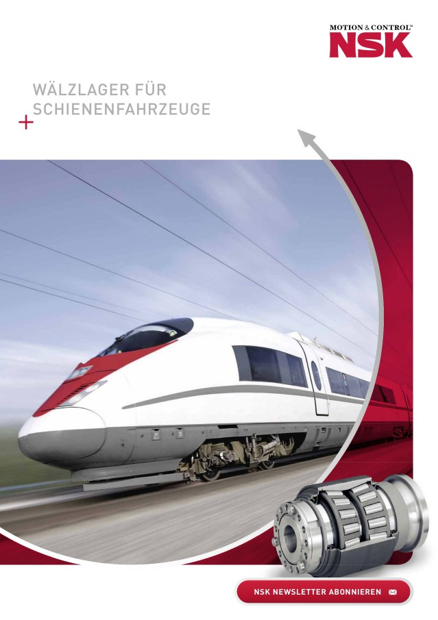 Wälzlager für Schienenfahrzeuge
