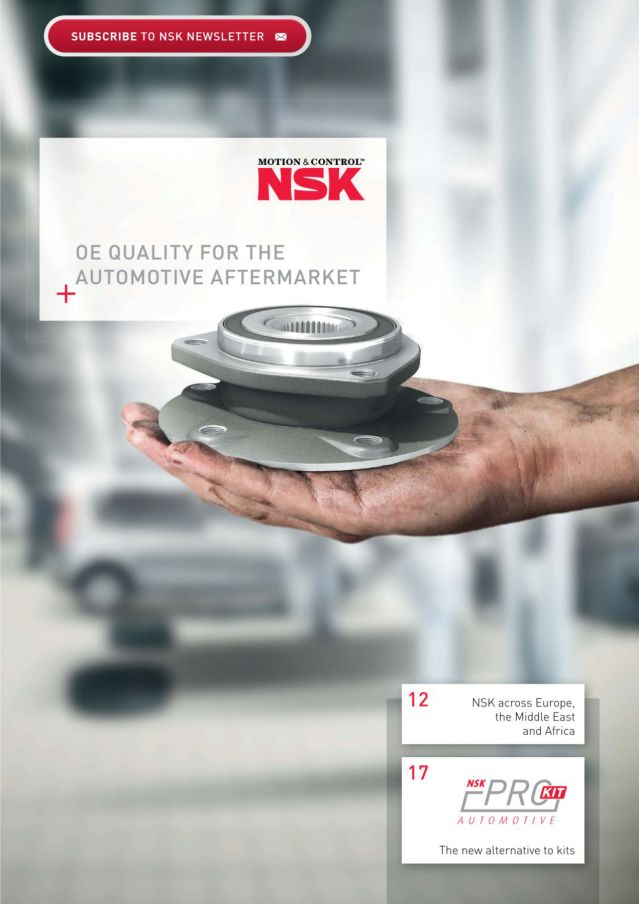 NSK Automotive Aftermarket Introduction  - publication