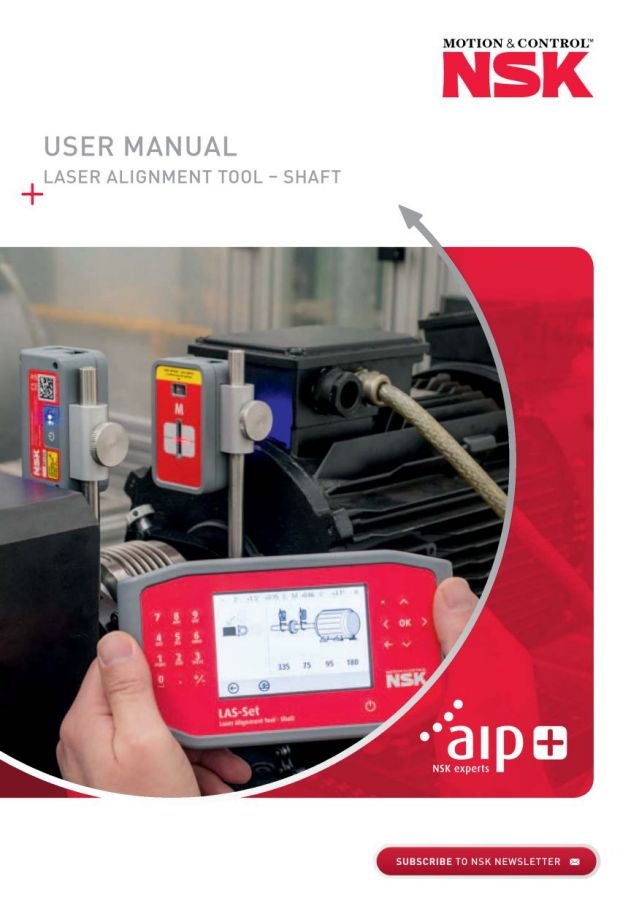 User Manual - Laser Alignment Tool - Shaft