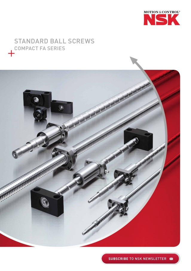 Standard Ball Screws Compact FA Series