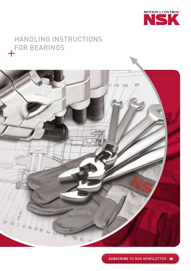 Handling Instructions for Bearings