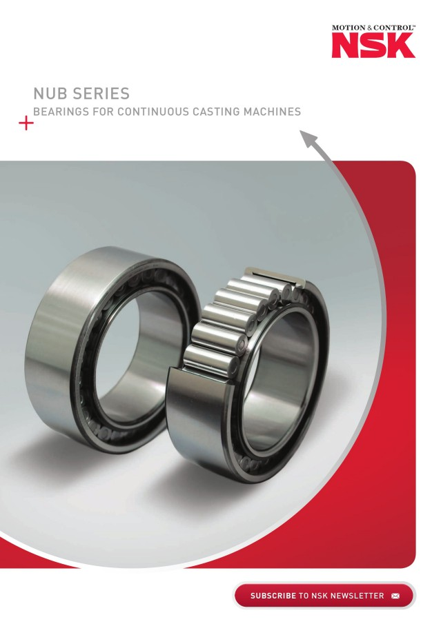 NUB Series - Bearings for Continuous Casting Machines