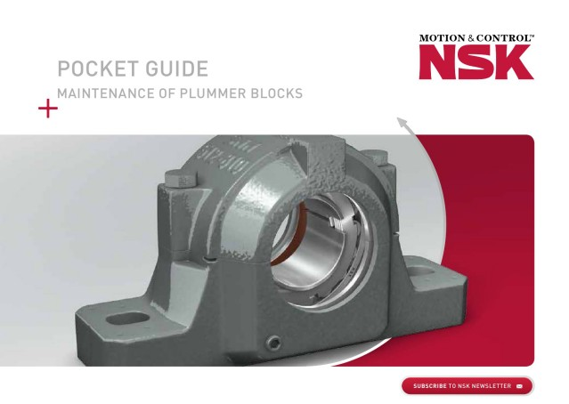 Pocket Guide Maintenance of Plummer Blocks