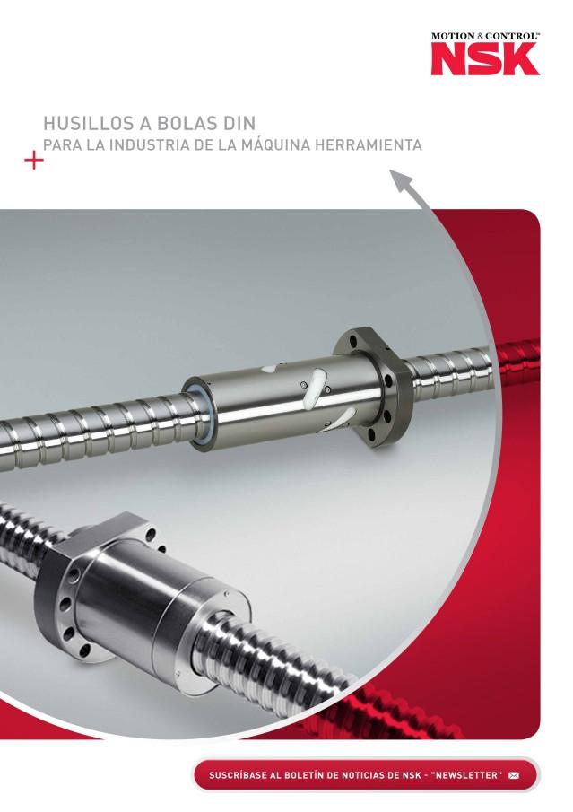 Husillos a Bolas DIN - Para La Industria de las Máquinas Herramienta