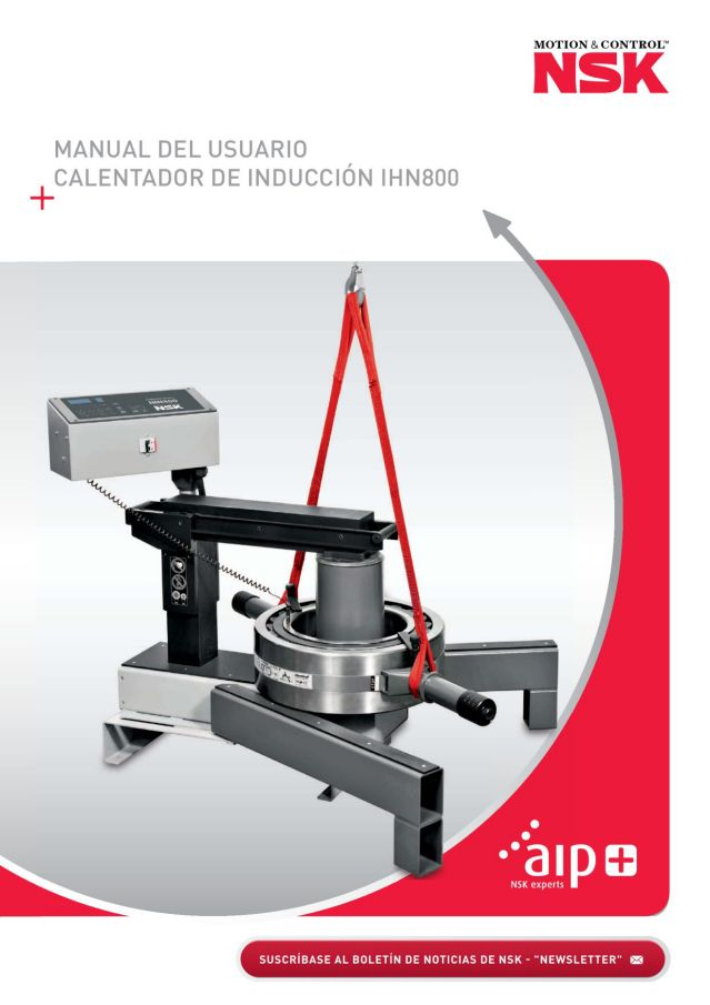 Manual del Usuario - Calentador de Inducción IHN800