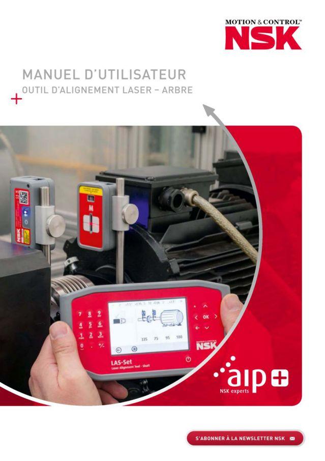 Manuel D'utilisateur - Outil D'Alignement Laser - Arbre
