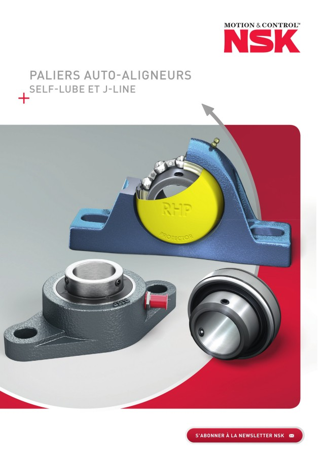 Paliers AutoAligneurs - SelfLube et JLine
