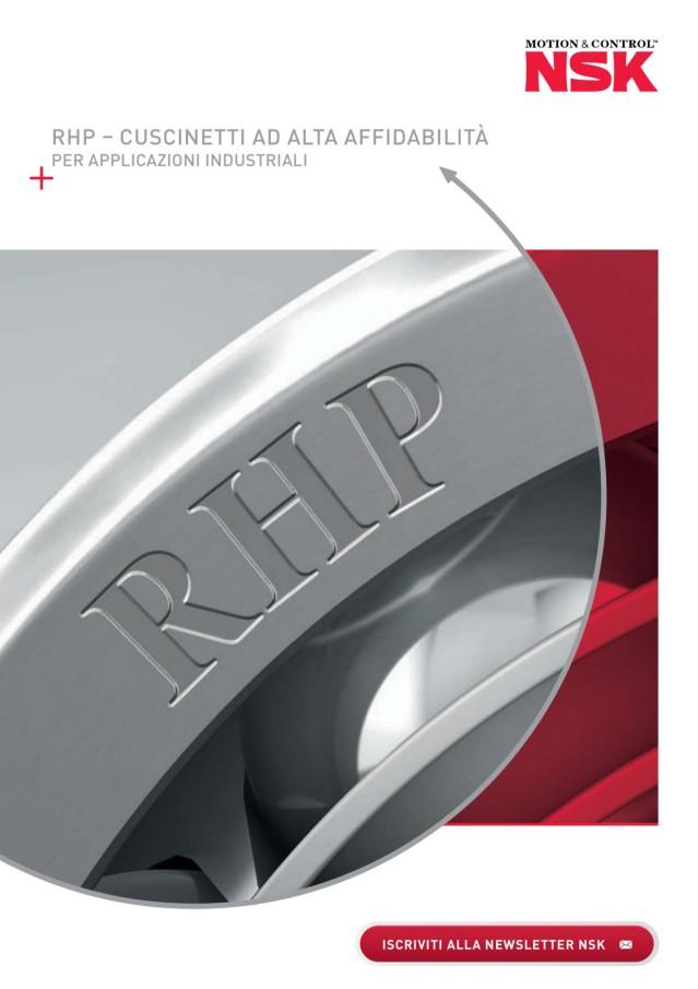 RHP - Cuscinetti ad alta affidabilità Per applicazioni industriali