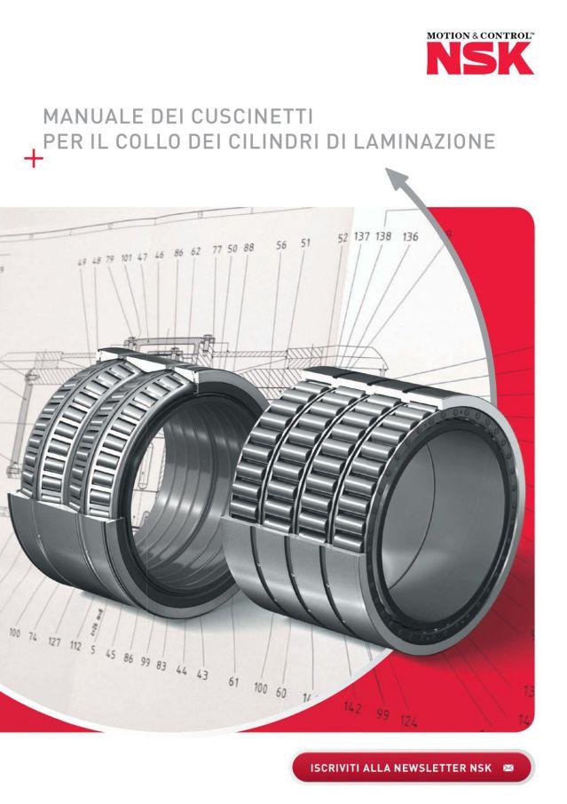 Manuale dei Cuscinetti per il Collo dei Cilindri di Laminazione