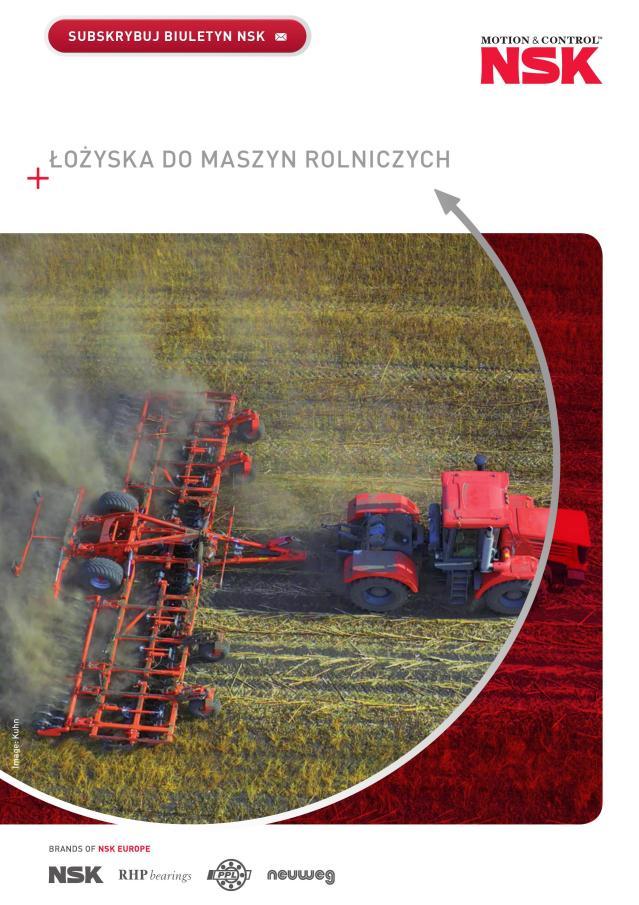 Łożyska dla przemysłu rolniczego