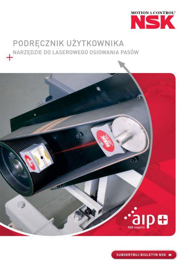 Podręcznik użytkownika - Narzędzie do laserowego osiowania pasów