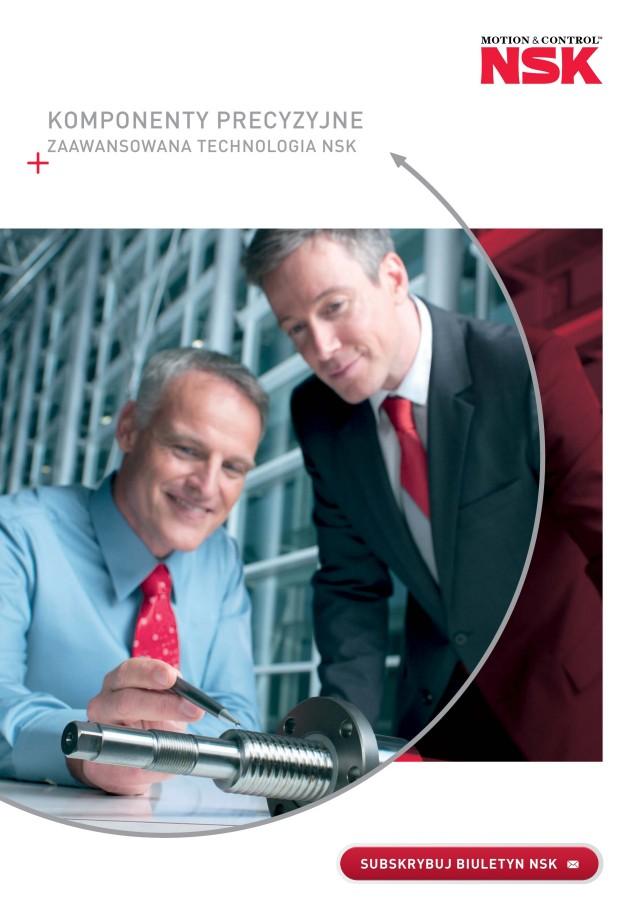 Komponenty precyzyjne - Zaawansowana technologia NSK
