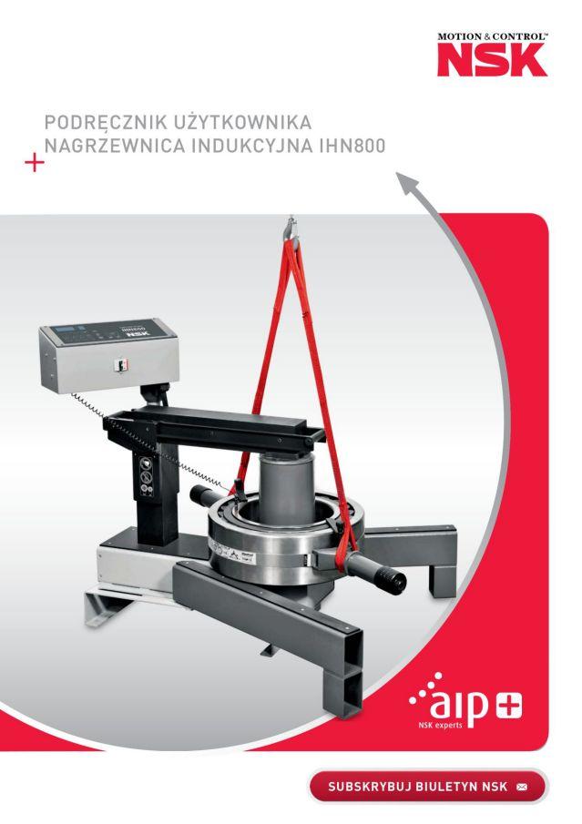 Podręcznik użytkownika - Nagrzewnica indukcyjna IHN800