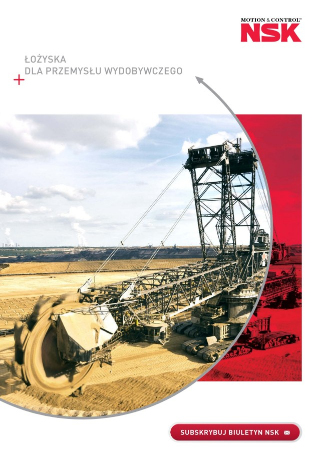 Łożyska dla przemysłu wydobywczego
