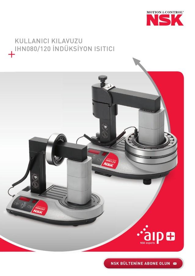 Kullanici Kilavuzu - IHN080/120 İndüksi̇yon Isitici